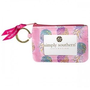 NWT • Simply Southern • Pineapple Key ID Pouch